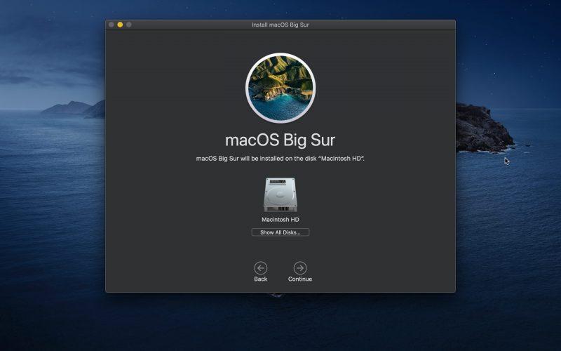 Big Sur Install 7