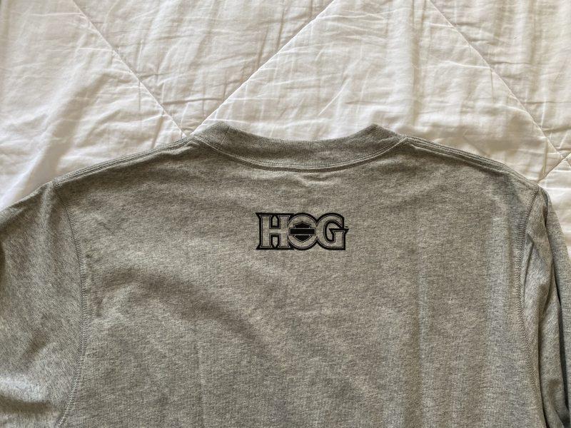 HOG長袖シャツ後