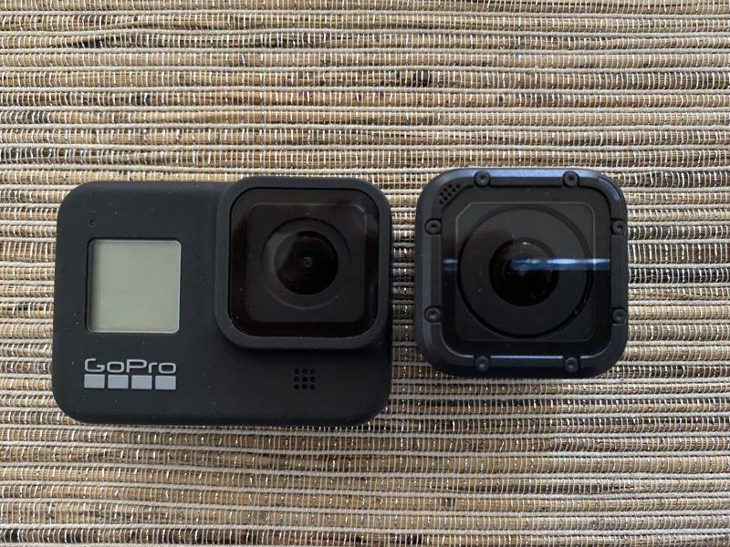 Hero8 Session比較正面